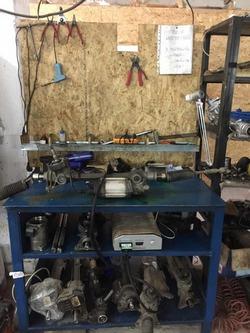 Диагностика и ремонт рулевых колонок, реек и насосов с электроусилителями ЭУР