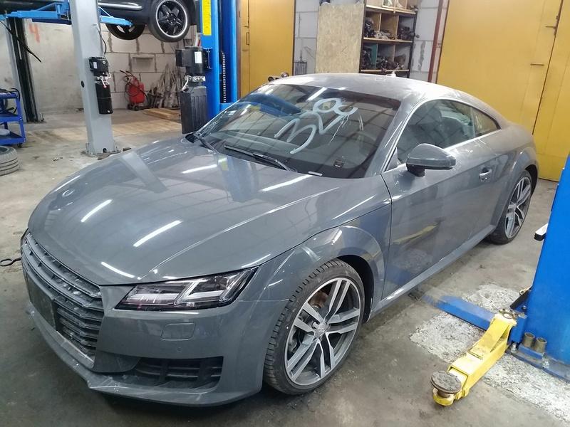 Диагностика Audi TT до ремонта