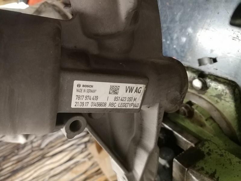 Маркировка рулевой рейки Audi TT