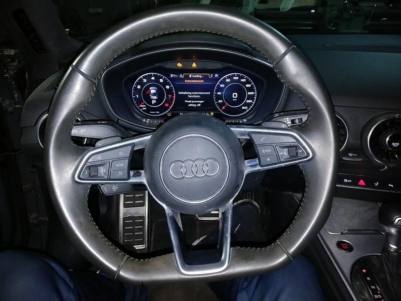 Рулевая электро рейка на Audi TT работает. Авто готов к сдаче