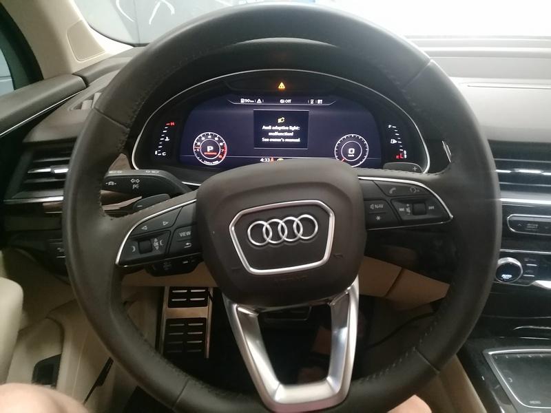 Рулевая электро рейка Audi Q7 работает!
