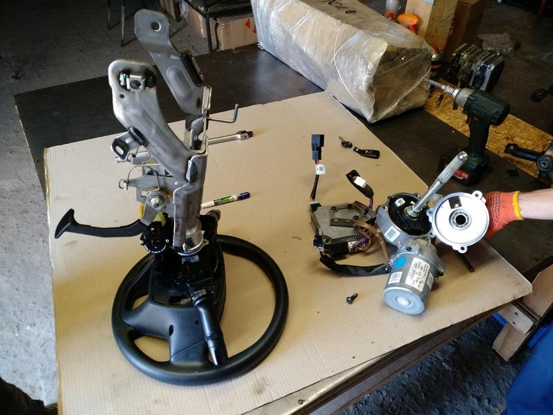 Ремонт рулевой электро колонки Kia Optima
