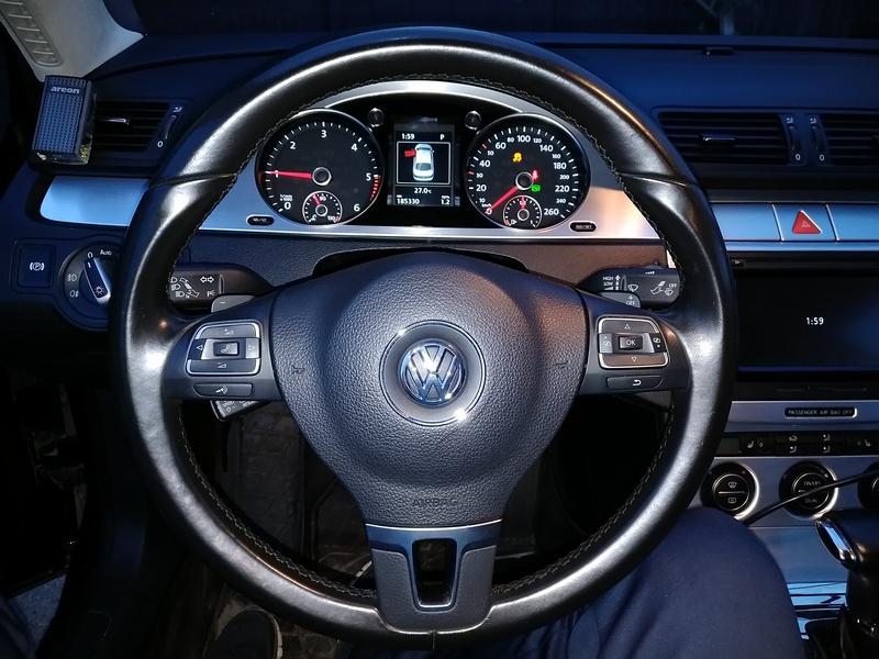 После установки рейки 3 поколения и прошивки ПО VW Passat B6