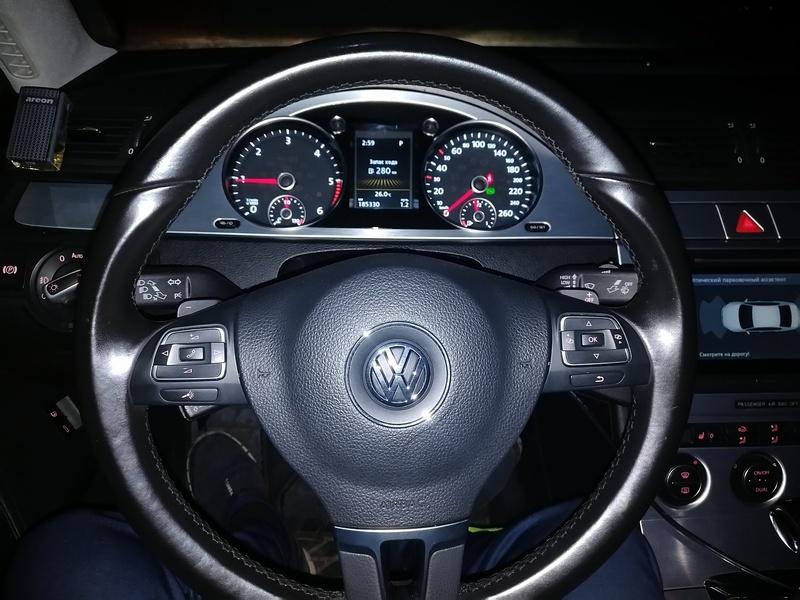 VW Passat B6 готов к сдаче клиенту