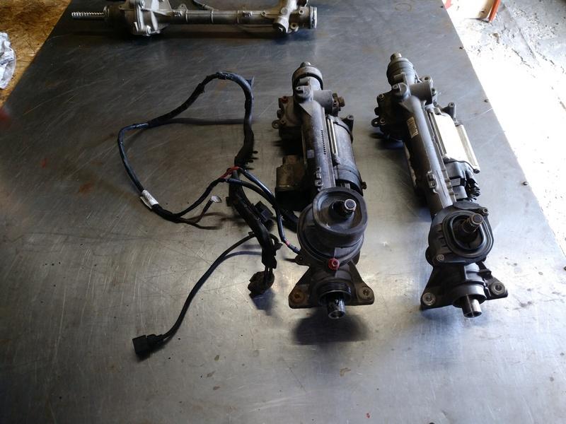 Рулевая электро рейка 2 поколения и 3 поколения