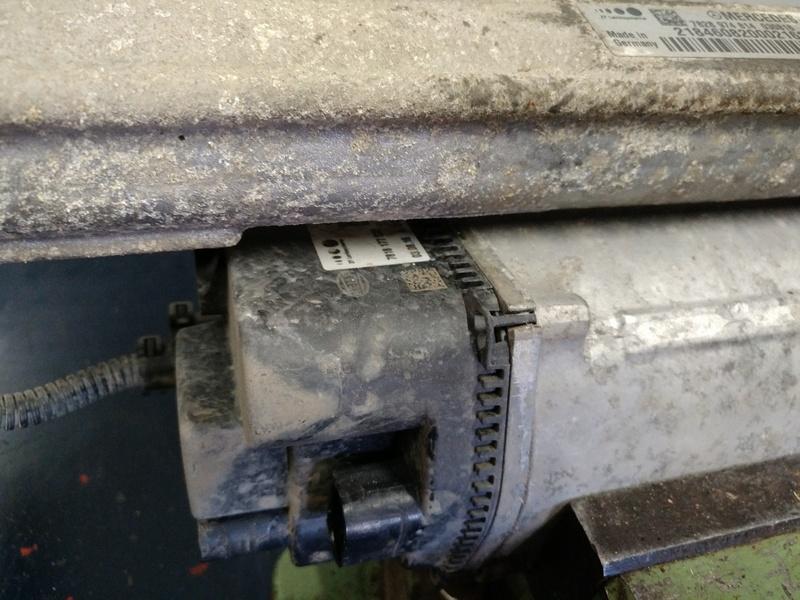 Модификация блока рулевой электро рейки MERCEDES CLS 350 (W218) 2013