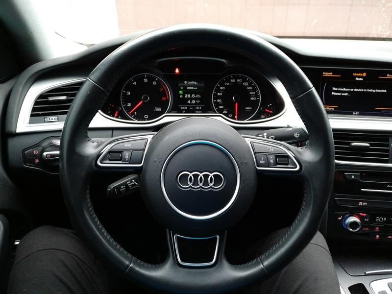 Рулевая рейка AUDI A4 (B8) 2015 работает. Авто готова к отдаче клиенту