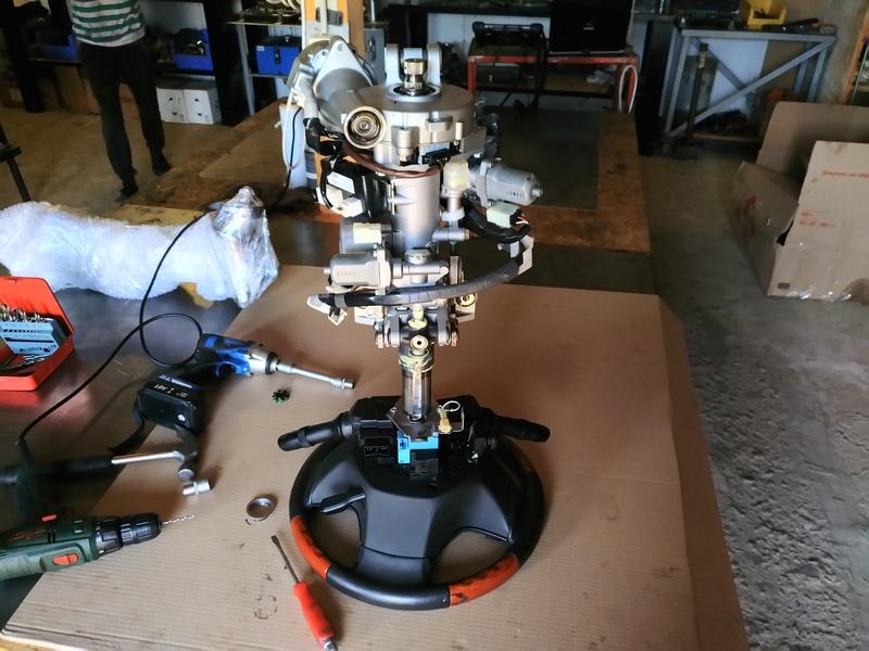 Ремонт рулевой электро колонки LEXUS RX 350 2011