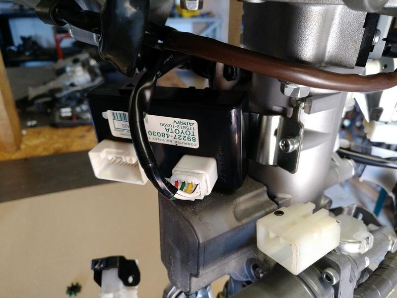 Блок управления рулевой электро колонки LEXUS RX 350 2011