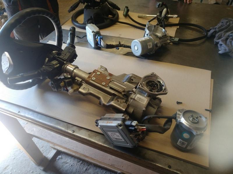 Ремонт рулевой электро колонки ЭУР HYUNDAI SONATA 10 (YF) 2.4б 2011. OE 56300-3Q200, 3Q56300200, 3Q563-99500