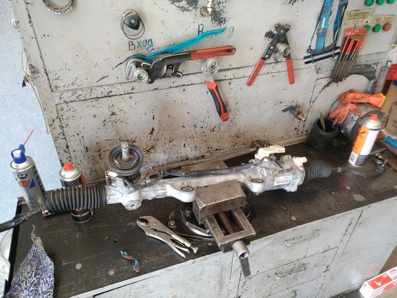 Ремонт рулевой электро рейки ЭУР HONDA ACCORD 8 VIII (CU). OE 53601-TL1-G01.