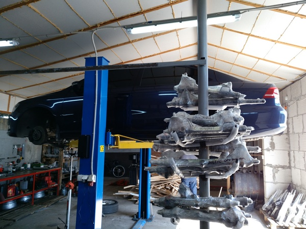 Снятие рулевой электро рейки ЭУР VW Passat B7 2.0tdi 2012. OE 3AB423061F, 5N0909144M