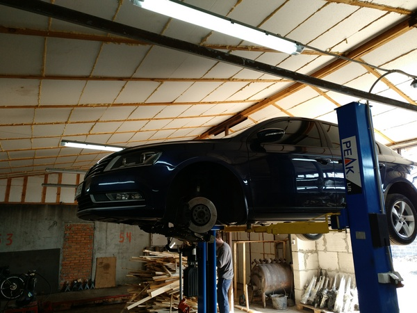 Диагностика рулевой ЭУР VW Passat B7 2.0tdi 2012. OE 3AB423061F, 5N0909144M