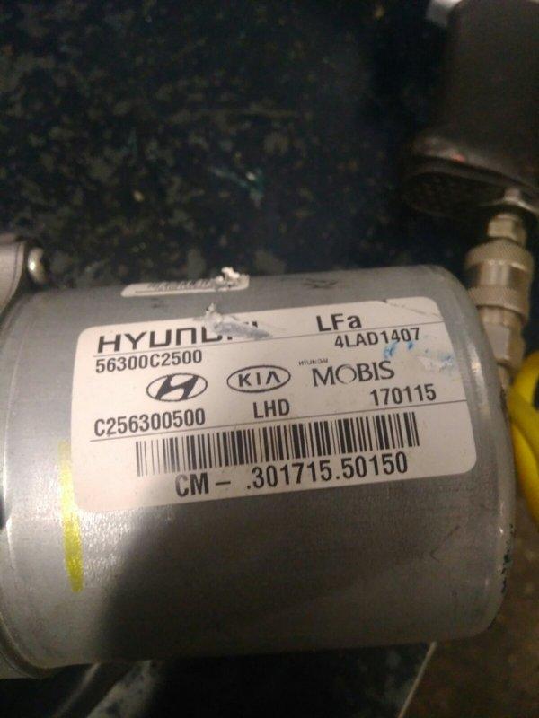Электромотор рулевой электро колонки ЭУР HYUNDAI SONATA 11 (LF) 2.4б 2015. OE 56300с2700, 56300-с2700, c256300700, 4lad1407