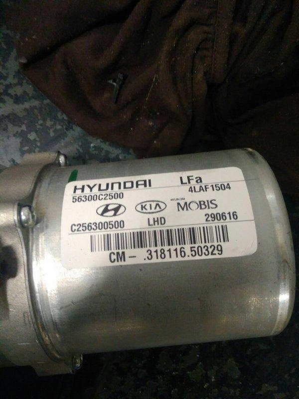 Электромотор рулевой электро колонки ЭУР HYUNDAI SONATA 11 (LF) 2.4б 2015. OE 56300с2500, 56300-с2500, c256300500, 4laf1504