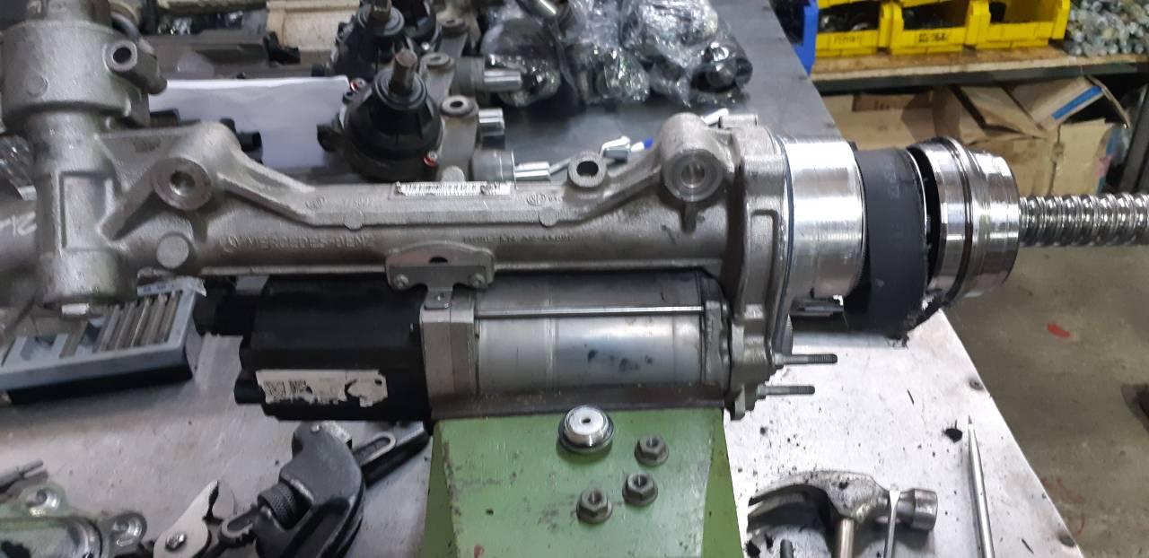 Ремонт рулевой электро рейки ЭУР MERCEDES M-CLASS (166) 2012-2018