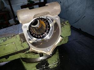 Электро рейка Ауди AUDI в ремонте - ржавый статор в корпусе