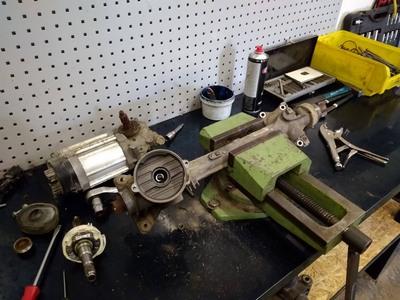 Ремонт рулевой электро рейки ЭУР AUDI A3 (8P1) 2010-