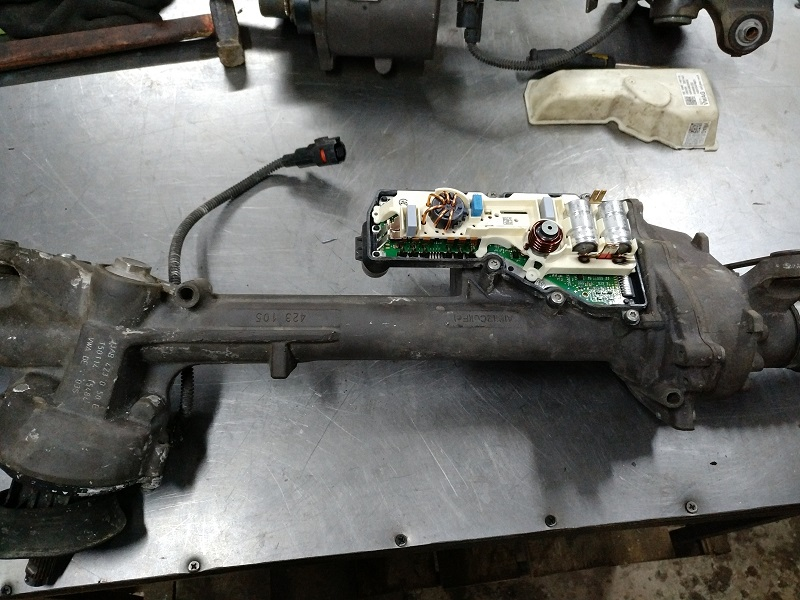 Ремонт рульової електро рейки ЭУР VW CADDY 3 (2KB, 2KJ та ін) 2005-2010