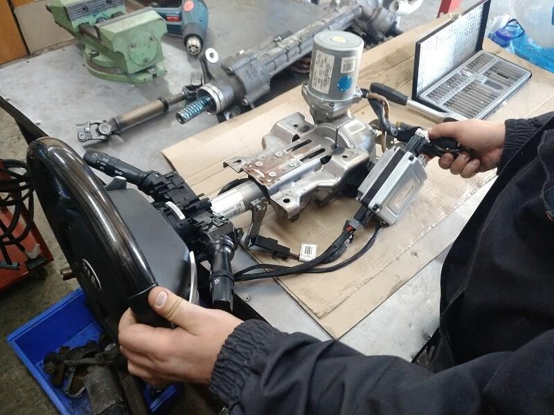 Ремонт рульової електро колонки ЭУР HYUNDAI ACCENT 3 (MC) 2005-2018