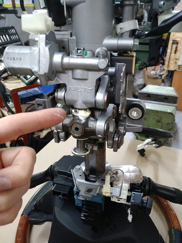 Ремонт рулевой электро колонки ЭУР LEXUS RX (GYL1_, GGL15, AGL10) 2008-2018: