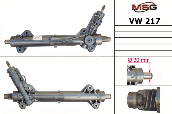 Ремонт кермової рейки з ГУР Мерседес Спринтер 906 (Mercedes Sprinter W906) 2006-